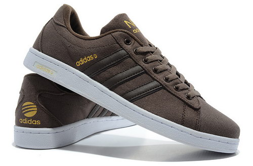 Mens Adidas Neo Skate Brown For Sale